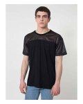 Alpha Broder RSA2419 Fine Jersey Athletic Tee With Mesh