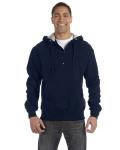Alpha Broder S185 For Team 365 Cotton Max Fleece Quarter-Zip Hood
