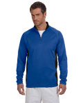 Alpha Broder S230 5.4 Oz. Performance Colorblock Quarter-Zip Pullover