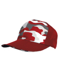 Alpha Broder S326 Camo Front Panel Hat
