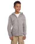 Alpha Broder S890 Youth 9 Oz. Double Dry Eco® Full-Zip Hood