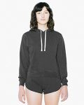 Alpha Broder TF3350W Ladie's French Terry Garment-Dyed Mid-Length Hooded Sweatshirt