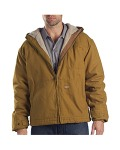 Broder Bros. TJ350 8.5 oz. Sanded Duck Sherpa Lined Hooded Jacket