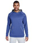 Alpha Broder TT36 Adult Excel Melange Performance Fleece Hoodie
