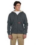 Alpha Broder TW385 10.75 oz. Bonded Waffle-Knit Hooded Jacket