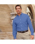 Alpha Broder VH56800 Men's Long-Sleeve Wrinkle-Resistant Oxford