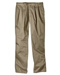 Alpha Broder WP114 8 Oz. Relaxed Fit Cotton Pleated Front Pant