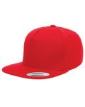 Alpha Broder Y6007 Adult 5-Panel Cotton Twill Snapback Cap