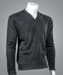 "Cobmex 2009 Cobmex ""Cashmere""-Like, V Neck Long Sleeve Pullover"