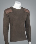 "Cobmex 8083 Cobmex Crew Neck Rib ""Commando"" with Velcro Epaulets, Poly-Cotton Shoulder and Elbow Patches"