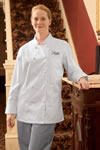 Women's Egyptian Cotton Chef Coat
