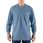 Carhartt 100237 Men's Flame-Resistant Force Cotton Long Sleeve Henley