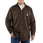 Carhartt 100432 Men's Flame-Resistant Canvas Shirt Jac