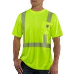 Carhartt 100495 Men's HV Force Short Sleeve Class 2 Tee