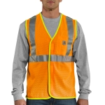 Carhartt 100501 Men's HV High Visibility Class 2 Vest