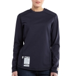 Carhartt 101107 101107 Women's Flame-Resistant Force Cotton Long Sleeve T Shirt