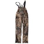 Carhartt 101226 Men's Quilt Lined Camo Bib Overalls