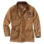 Carhartt 101310 Men's Auburn University Weathered Chore Coat