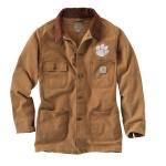 Carhartt 101329 Men's Clemson Weathered Chore Coat