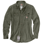 Carhartt 101698 Men's Flame-Resistant Force Cotton Hybrid Shirt