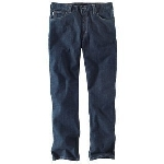 Carhartt 101814 Men's Flame-Resistant Rugged Flex Jean Straight Trdl Fit