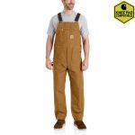 Carhartt 102776 Men's R01 Duck Bib Overalls