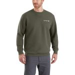Carhartt 103307 Men's Midweight Graphic Crewneck Sweatshirt