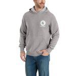 Carhartt 103453 Men's Force Delmont Graphic Hdd Sweatshirt