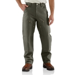 Carhartt B01 B01 Men's Firm Duck Double Front Work Dungaree
