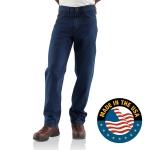 Carhartt FRB100 Men's Flame-Resistant Signature Denim Jean