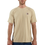 Carhartt FRK008 Men's Flame-Resistant Force Short Sleeve T Shirt