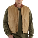 Carhartt RNV01 Men's Weathered Duck Vest