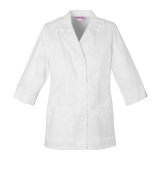 "Cherokee Uniforms 1470 30"" 3/4 Sleeve Lab Coat"