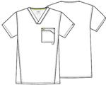 Cherokee Uniforms 16600AB Men's V-Neck Top