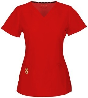 "Cherokee Uniforms 20971A ""Wrapped Up"" V-Neck Top"