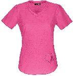 "Cherokee Uniforms 20976 ""Girls Love Pink"" V-Neck Top"