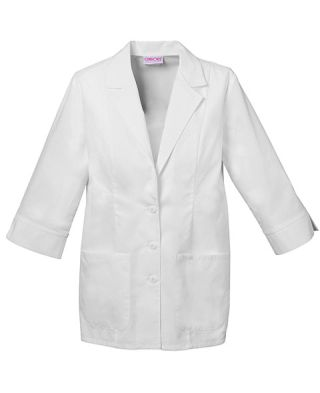 "Cherokee Uniforms 2330 29"" 3/4 Sleeve Lab Coat"