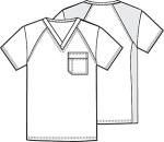 Cherokee Uniforms 2611 Men's V-Neck Top
