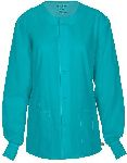 Cherokee Uniforms 34350A Unisex Snap Front Warm-up Jacket