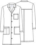 "Cherokee Uniforms 4421 **NEW** 40"" Unisex Lab Coat"