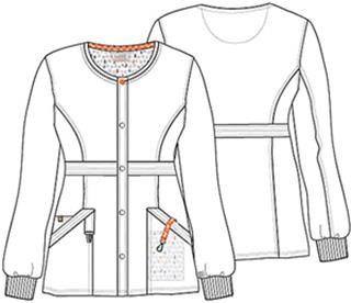 Cherokee Uniforms 46300A Snap Front Warm-up Jacket