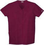 Cherokee Uniforms 4770 Snap Front V-Neck Top