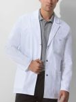 "Cherokee Uniforms 81403 31"" Men's Snap Front Lab Coat"