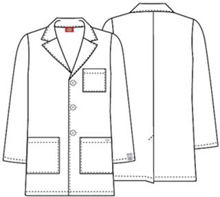 "Cherokee Uniforms 81404A 31"" Men's Lab Coat"