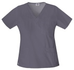 "Cherokee Uniforms 817455 ""Youtility"" Jr. Fit V-Neck Top"
