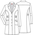 "Cherokee Uniforms 82410 **NEW** 36"" Jr. Fit Lab Coat"