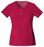 "Cherokee Uniforms 82721 ""Youtility"" Jr. Fit Round Neck Top"