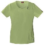 "Cherokee Uniforms 82838 ""Youtility"" Jr. Fit Round Neck Top"