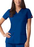 "Cherokee Uniforms 82855 ""Youtility"" Jr. Fit V-Neck Top"