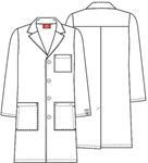 "Cherokee Uniforms 83403AB 40"" Unisex Lab Coat"
